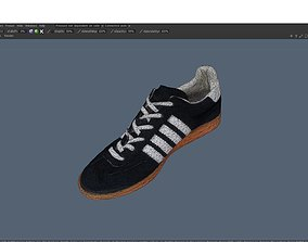Low poly sneaker 3D model realtime