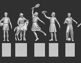 3D print model Statues of Soviet pioneers