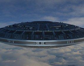 3D model UFO MotherShip