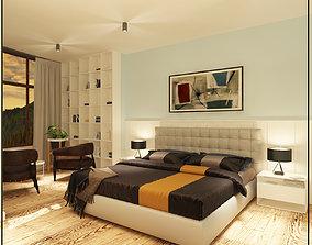 bedroom living 3D
