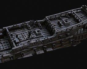 Shipwreck 3D asset