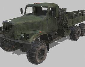 KrAZ-255 3D asset