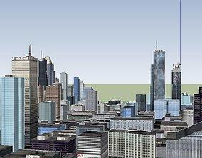 3D Very big city complet