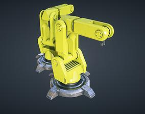 Industrial Robot Sci Fi 3D asset