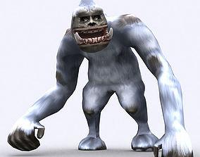 animated 3DRT - Yeti monster2