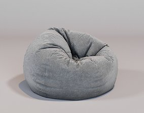 3D round bean bag cosy