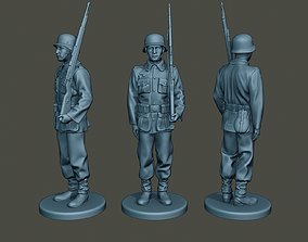 German soldier ww2 Attention G1 3D printable model