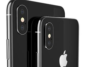 3D model Apple iPhone XS and XS Max