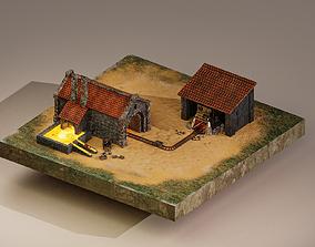 Iron Mine Level 15 3D model