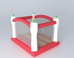 3D Bouncy castle