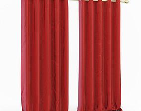 3D model Curtains stile
