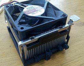 CPU Fan Bracket Socket 478 3D print model