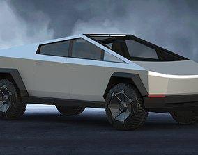 Tesla Cybertruck 3D elon