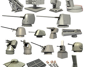 3D GREAT NAVAL WEAPON SYSTEMS COLLECTION
