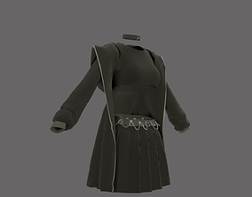 3D model e girl outfit