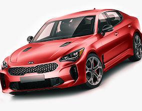 3D Kia Stinger GT 2017