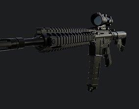 Colt M4A1 3D asset