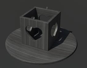 3D model Heart Box