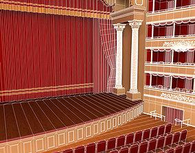 3D Old theatre