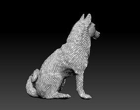 3D printable model Siberian Husky sculpture figurines