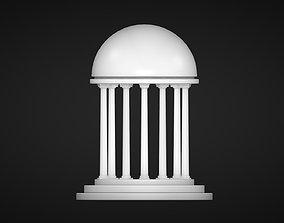 A Rotunda - Dome 3D asset