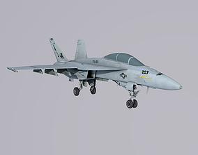 3D model McDonnell Douglas FA-18 Super Hornet