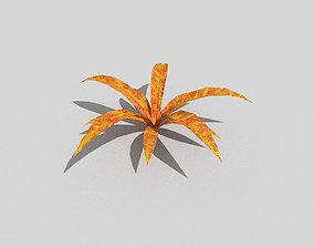 Low poly Plant 3D asset low-poly hedge