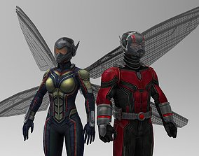3D model Antman and the Wasp