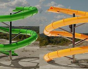 Water Slide 3D models pbr