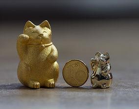 3D print model Maneki Neko cute chubby japanese lucky cat