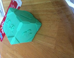 Fancy cube- with card suits 3D printable model