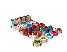 3D model Christmas Gifts New V4