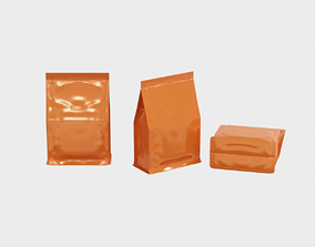 3D asset Package - Supplement bag or general food with