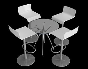 3D metting chair model