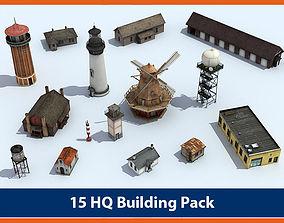 Building Pack 01 3D model