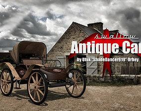3D model antique Antique Car