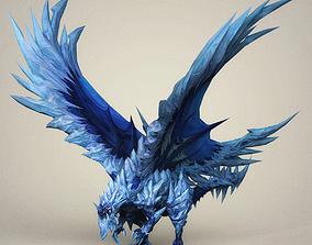 3D asset Monster Dragon