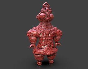 Dogu Sculpture 3D print model