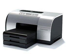 3D model Hp Silver Business Inkjet 2900