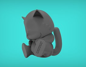 3D printable model Cat Sleep Sitting
