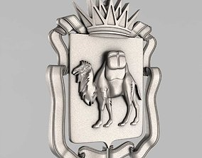 3D printable model The emblem of Chelyabinsk