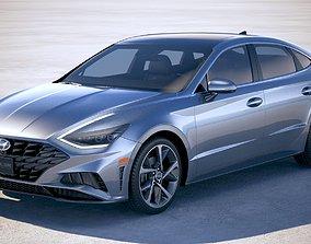 Hyundai Sonata US 2020 3D
