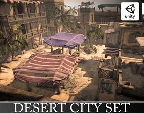 Ancient Egypt Town Set 3D model