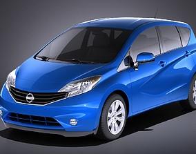 3D Nissan Versa 2016 USA VRAY