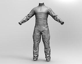 seals Qualitative 3d model of US Soldier Uniform