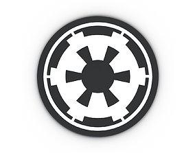 Star Wars Empire Logo 3D