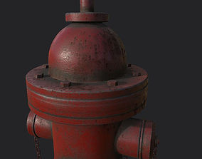 Fire Hydrant 3D PBR