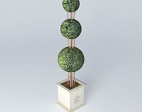 3D model TOPIARY VILLANDRY