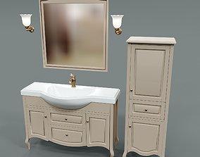 Furniture for bathroom Caprigo Verona 3D model