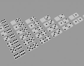 3D model Domino Set 28 pieces
